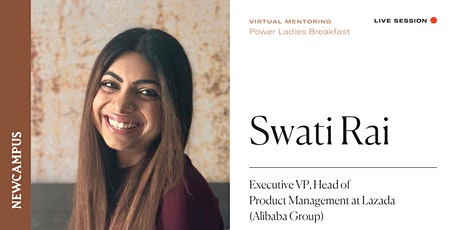 Virtual Mentoring   Power Ladies Breakfast with Swati Rai tickets