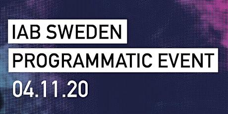 IAB Sverige Programmatic Event ingressos