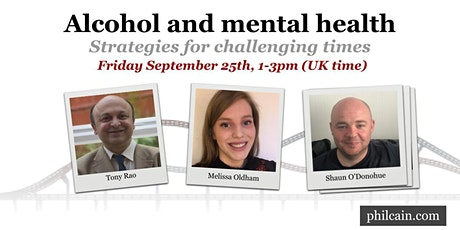 Alcohol and mental health tickets