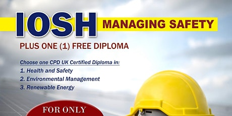 FREE  IOSH Exam Preparation Course (DEMO CLASS) tickets