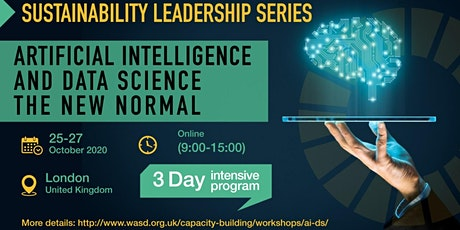 Artificial Intelligence and Data Science the New Normal tickets