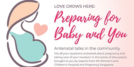 Achieving a healthy pregnancy and preparing for labour  | Antenatal Talk tickets