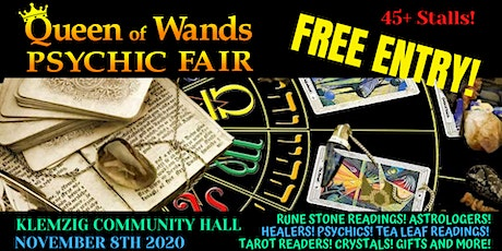 Queen of Wands Psychic Fair tickets