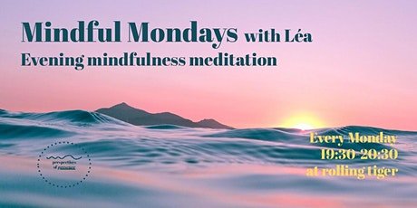 Weekly Mindfulness meditation tickets