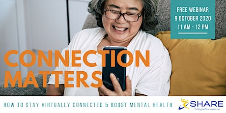 Connection Matters: Mental Health Support for Seniors tickets