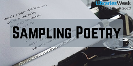 Sampling Poetry tickets