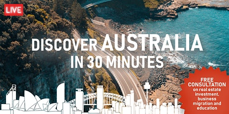 [ONLINE EVENT] Discover Australia in 30 Minutes tickets