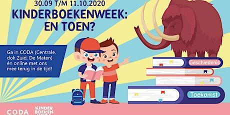 Kinderboekenweek 2020: CODA Schatkamers tickets