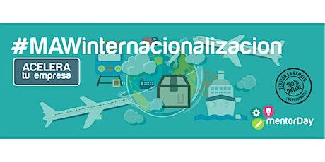 Programa de Aceleración Internacionalización entradas