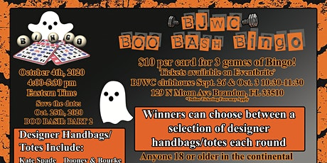 BOO BASH BINGO tickets