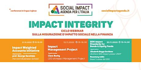 Impact Integrity - Impact Management Project biglietti