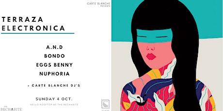 Terraza Electronica 004 X The Rechabite tickets