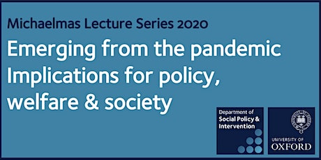 COVID-19 and household incomes – DSPI Lecture Series @ University of Oxford tickets