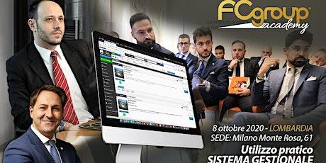 CORSO SULL'UTILIZZO PRATICO DEL SISTEMA GESTIONALE biglietti