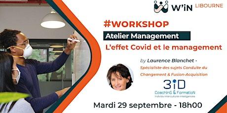 Workshop : L'effet Covid et le management billets