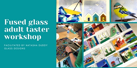Adults Fused Glass Taster Workshop tickets
