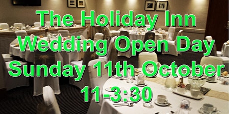 The Holiday Inn at J25 Wedding open day tickets