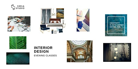 LIVE online interior design course (5 weeks - starts 11th of Jan. 2021) tickets