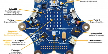 Programmieren mit Calliope mini: Deine eigene Hardware Tickets