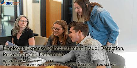 Employee Expense Reimbursement Fraud: Detection, P tickets