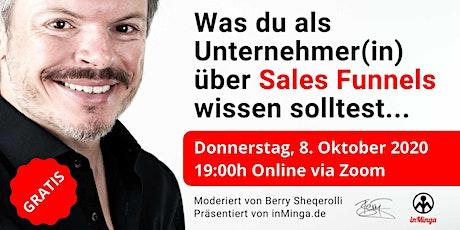 Was du als Unternehmer(in) über Sales Funnels wissen solltest Tickets