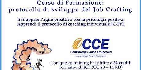 Corso di Aggiornamento: il Protocollo di sviluppo del Job Crafting biglietti