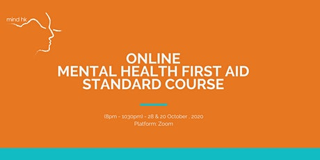 Online Mental Health First Aid Standard Course (28&29OCT) tickets