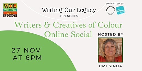 Writers & Creatives of Colour Online Social: with Umi Sinha tickets