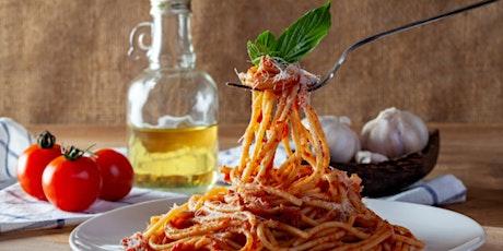 Good Mood Food- Veggie Spaghetti Bolognese tickets