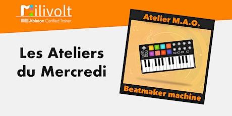 Les Ateliers du Mercredi : Beatmaker Machine (de 12 à 15 ans) entradas