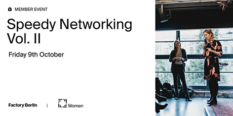Speedy Networking Vol. II: Women's Circle tickets