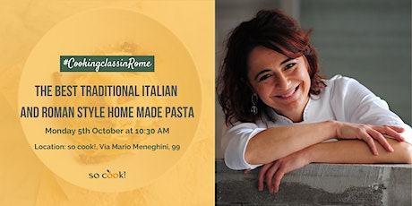 Cooking Class: The Best traditional Italian and Roman style home-made pasta tickets