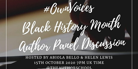 #OwnVoices Black History Month Author Panel Discussion tickets