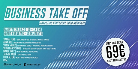 Business Take Off 2020 |  Nürnberg billets
