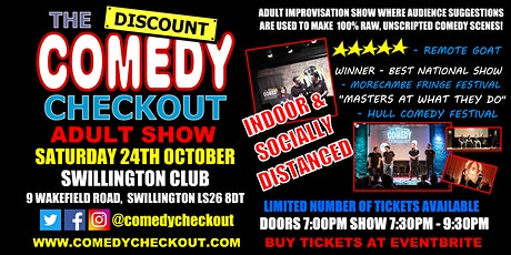 Adult Comedy Show at Swillington Club tickets
