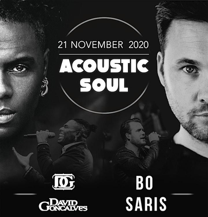 Afbeelding van Acoustic Soul at TOBACCO with David Goncalves  & Bo Saris (1e voorstelling)