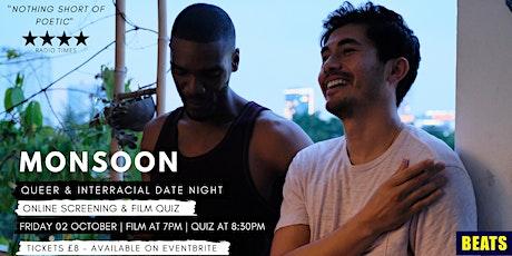 QUEER & INTERRACIAL DATE NIGHT:  MONSOON Screening + Film Quiz! tickets