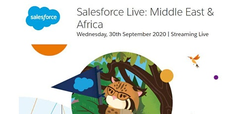 Salesforce live : Middle East and Africa  a virtual event tickets