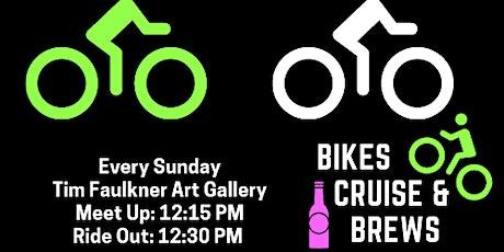 Bike. Cruise. Brews tickets