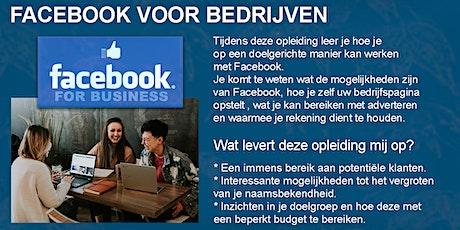 Opleiding : Facebook voor bedrijven tickets