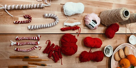 Weekend Workshop - Crochet your own Candy Cane with SABINNA tickets