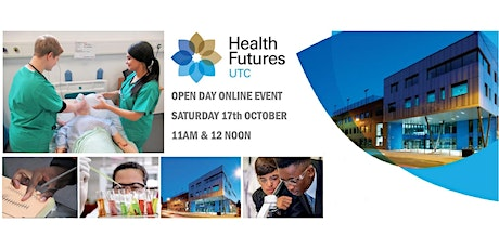 Online Open Day Event, Saturday 17th October 2020 tickets