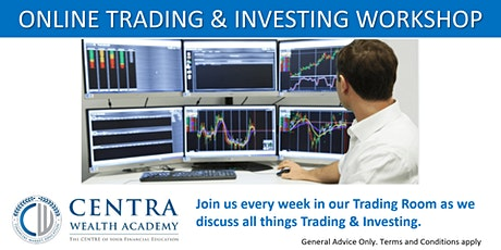 Online Trading & Investing Workshop - Weekly event tickets