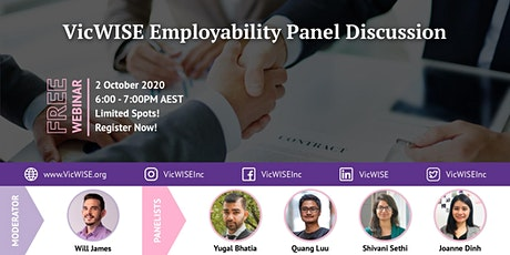 VicWISE Employability Panel Discussion tickets