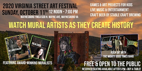 2020 Virginia Street Art Festival - Waynesboro tickets