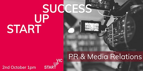 Startup Success Series: PR and Media Relations tickets