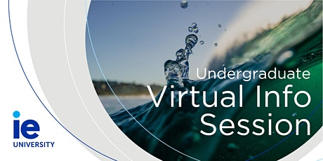 Interactive Virtual Session for North America: Study in Spain at IE University tickets