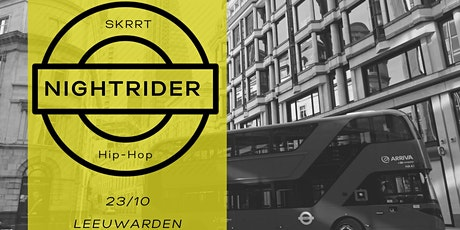 NIGHTRIDER •• 23/OKT •• Skrrt tickets