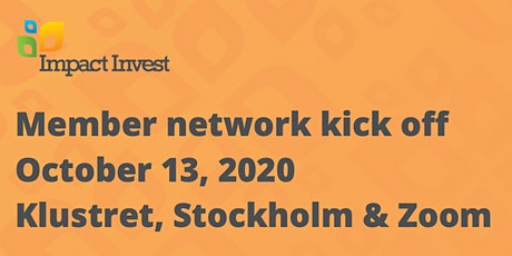 Impact Invest member network kick off! tickets