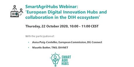 Webinar: European Digital Innovation Hubs & collaboration in DIH ecosystem tickets